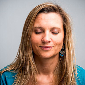 Karla Gouyou Beauchamps, méditation pleine conscience à Rennes