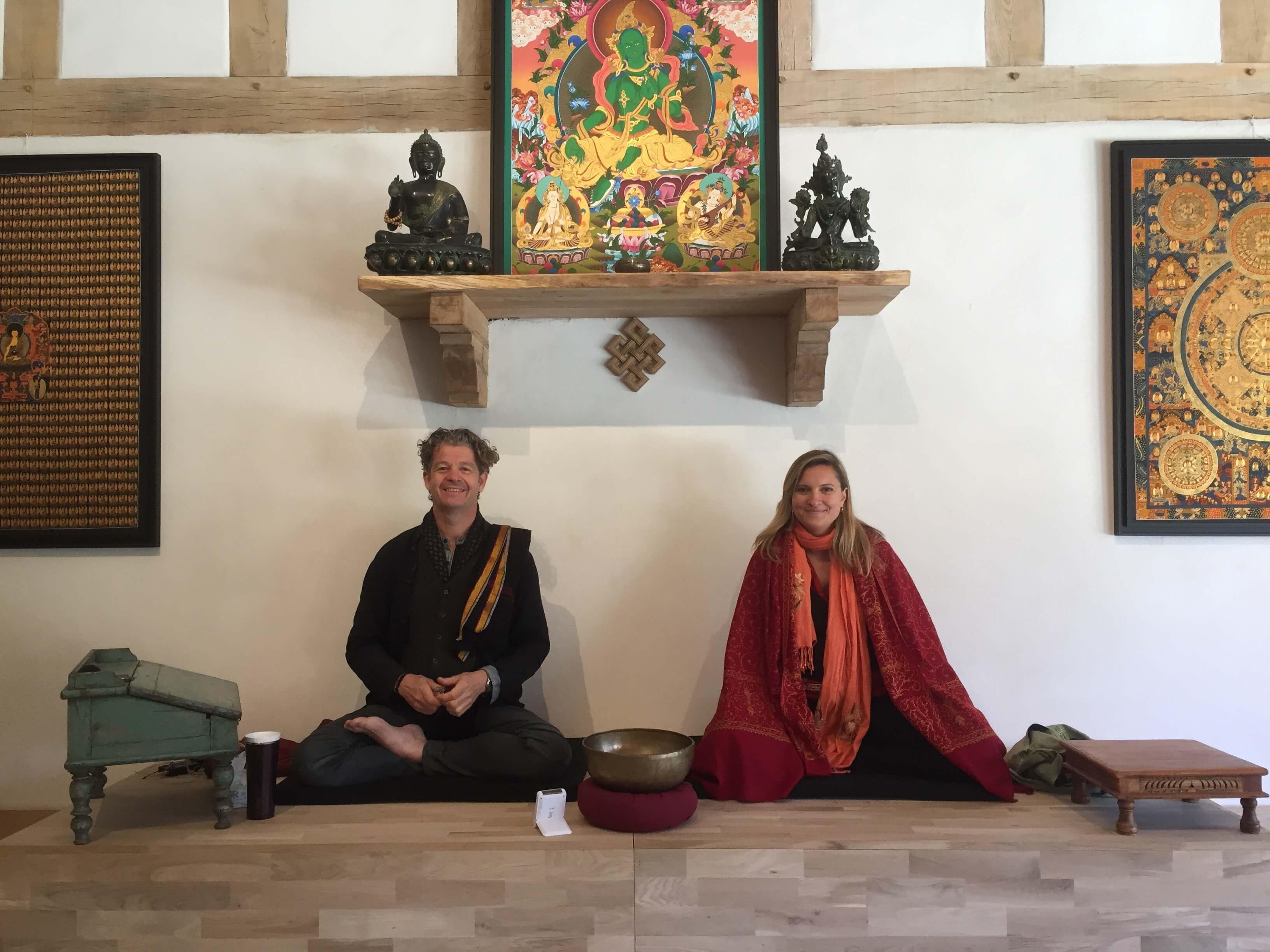 retraite de méditation avec l'instant papillon et Martin Aylward