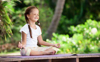 enfant et méditation